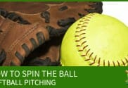 softball pitching how to spin