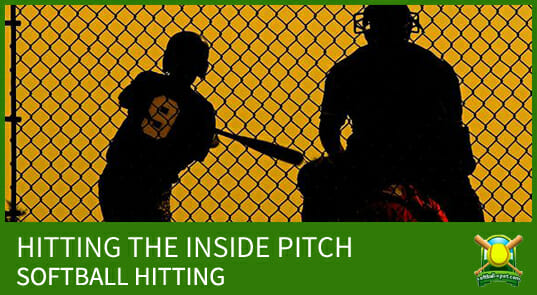 softball hitting inside pitch