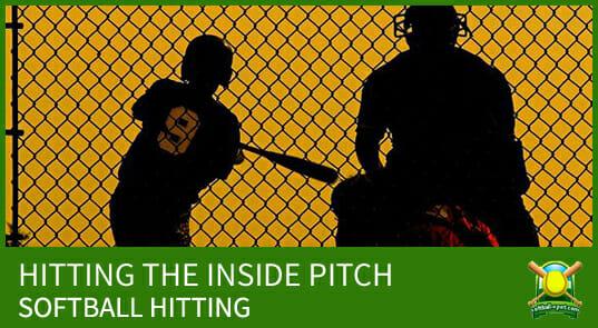 softball hitting inside pitch