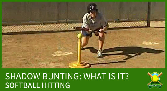 SHADOW BUNTING SOFTBALL HITTING