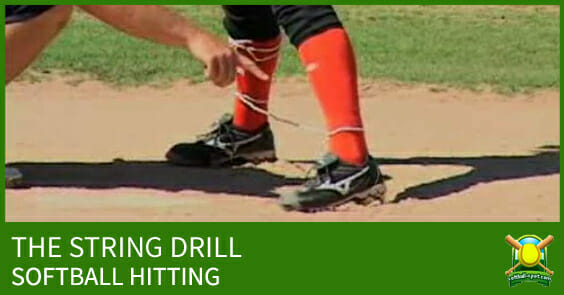 SOFTBALL HITTING STRING DRILL