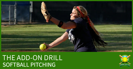 ADD ON DRILL SOFTBALL PITCHING