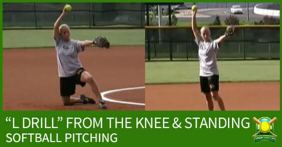 l drill softball pitching