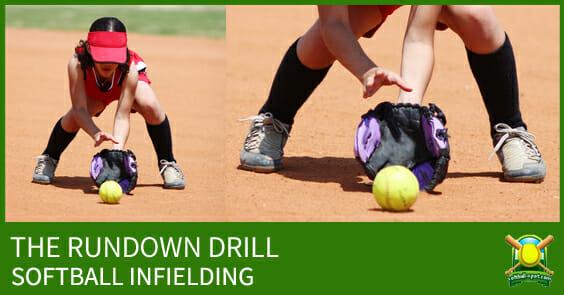 rundown-drill-softball-infielding-drill