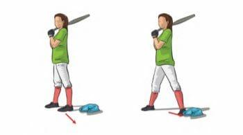 Step Drill Softball Hitting Drill